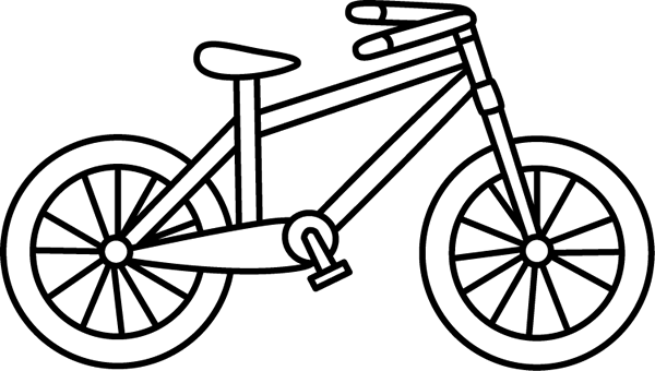 Bw clipart biking png freeuse library Bicycle Clipart Black And White | Free download best Bicycle Clipart ... png freeuse library