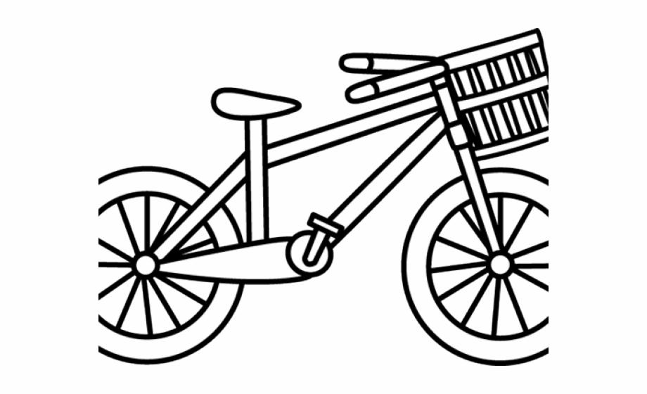 Bw clipart biking picture black and white Bike Clipart Outline - Clipart Cycle Black And White Free PNG Images ... picture black and white
