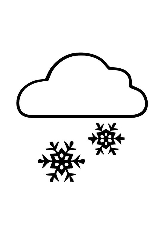 Bw clipart snowing vector free Free Snow Clouds Cliparts, Download Free Clip Art, Free Clip Art on ... vector free
