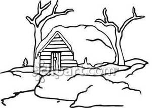 Bw clipart snowing picture free library Snowy Clipart Black And White | Clipart Panda - Free Clipart Images picture free library