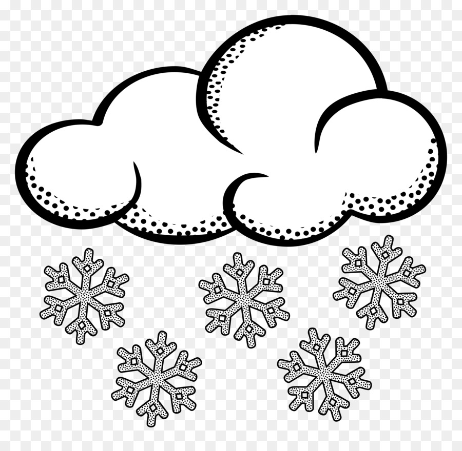 It s snowing clipart png stock Snow Cloud PNG Black And White Transparent Snow Cloud Black And ... png stock