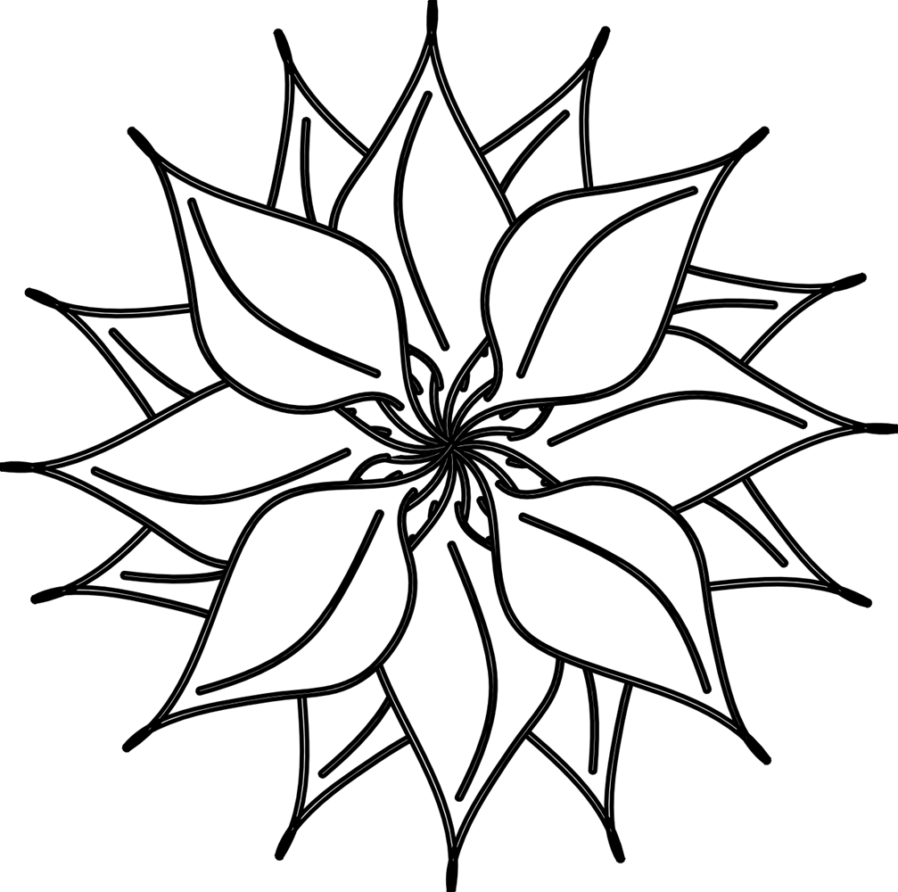 B&w flower clipart image download Daffodil clipart black and white school - royals kc world series ... image download