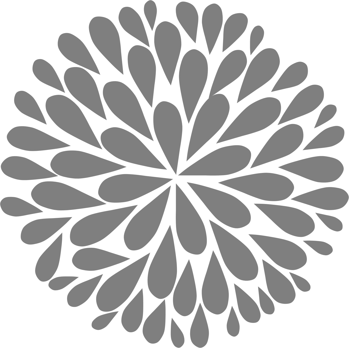 Clipart black and white flower design image transparent download Black And White Flower Clipart Collection (35+) image transparent download