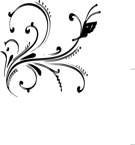 Clipart black and white flower design banner stock Flower Designs Black And White Collection (74+) banner stock