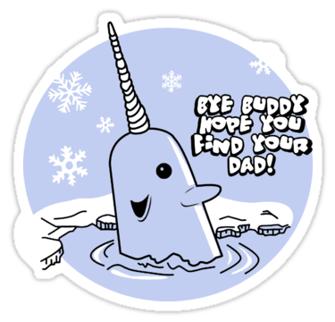 Bye buddy hope you find your dad clipart vector free library Mr Narwhal | Sticker | ☆ ʟ ɪ ʟ | ᴛ ʜ ɪ ɴ ɢ s | Stickers, Scarf ... vector free library