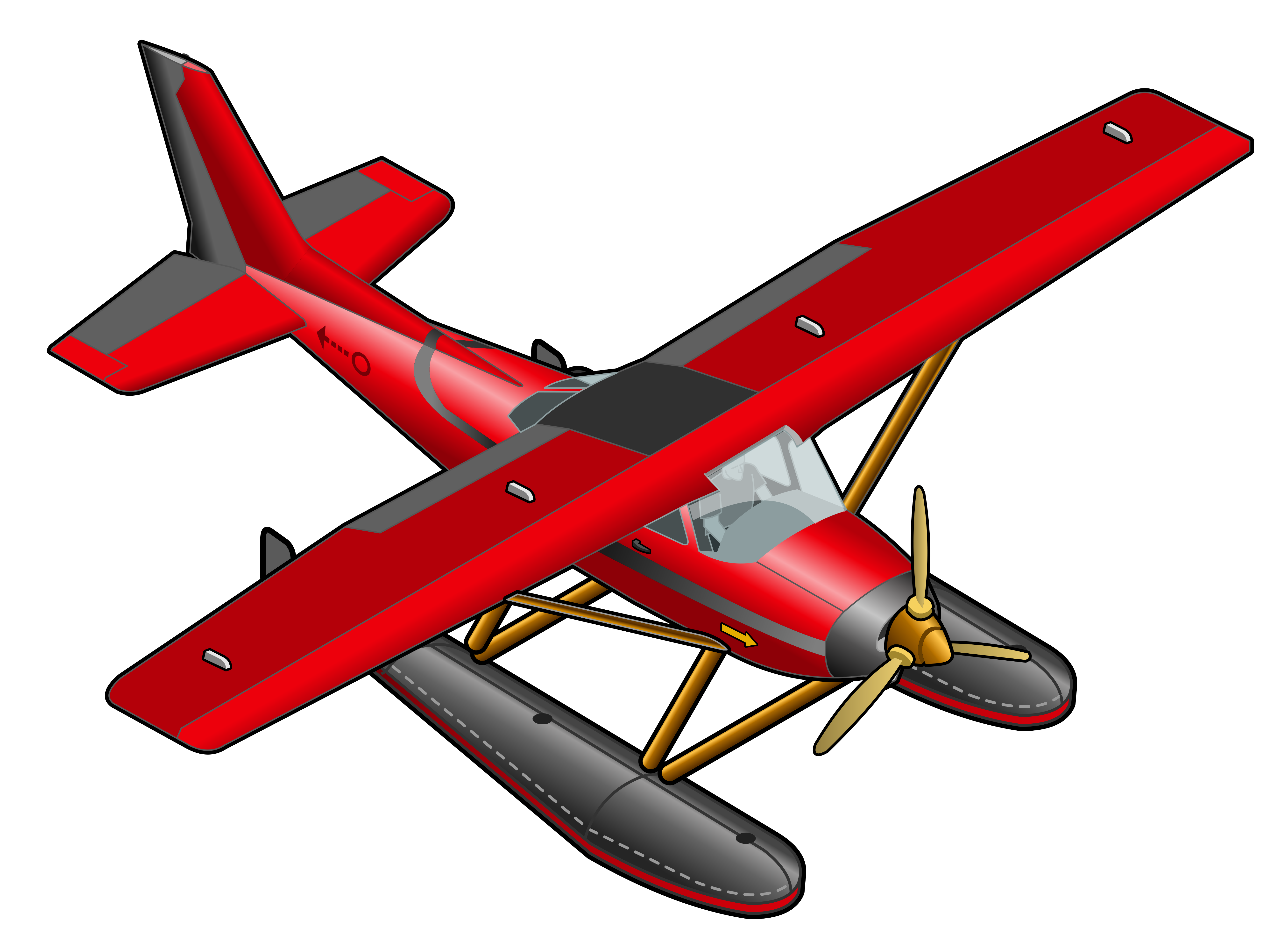 Byplane clipart png image freeuse library Red Plane Transparent PNG Clipart | Gallery Yopriceville - High ... image freeuse library
