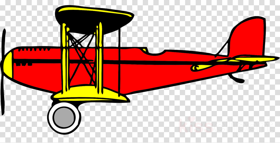 Byplane clipart png jpg royalty free Airplane, Wing, Yellow, transparent png image & clipart free download jpg royalty free