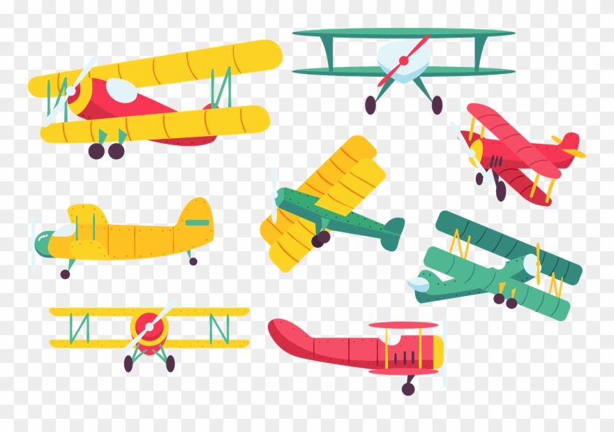 Byplane clipart png clip royalty free Biplane %5bconverted%5d Vintage Airplanes, Vector - Vector Graphics ... clip royalty free