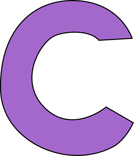 Letra c em clipart png royalty free download Purple Letter C Clip Art Image | Clipart Panda - Free Clipart Images png royalty free download