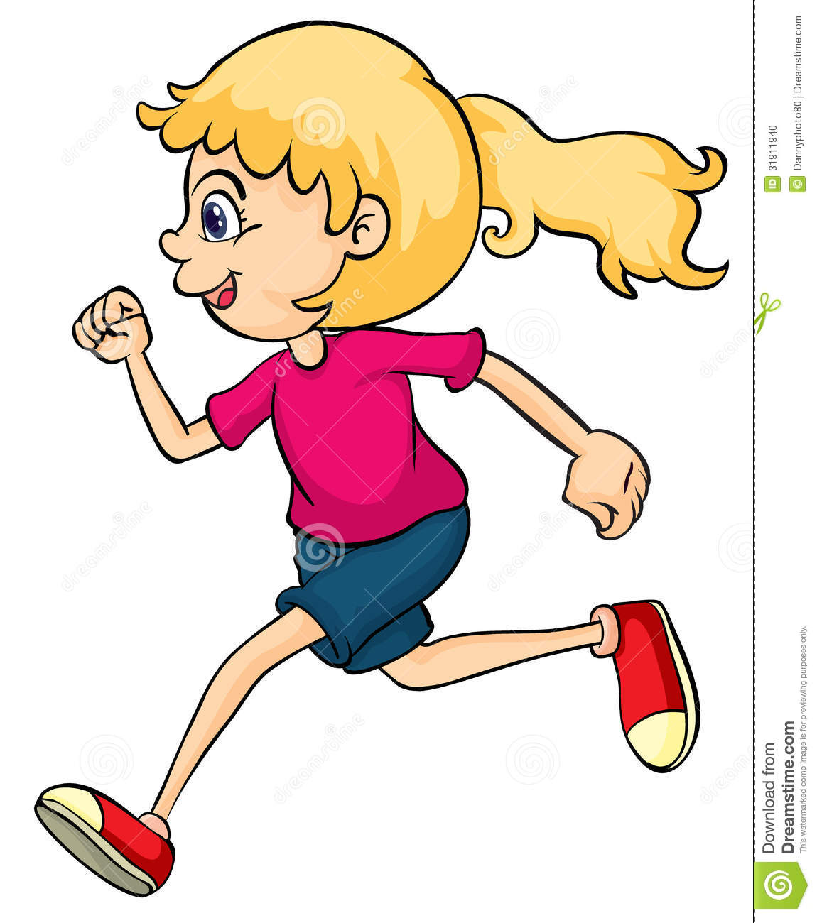99+ Girl Running Clipart | ClipartLook vector free library