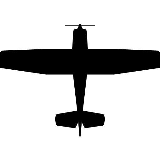 C172 clipart clip art black and white cessna 172 silhouette - Google Search | piercing | Airplane tattoos ... clip art black and white