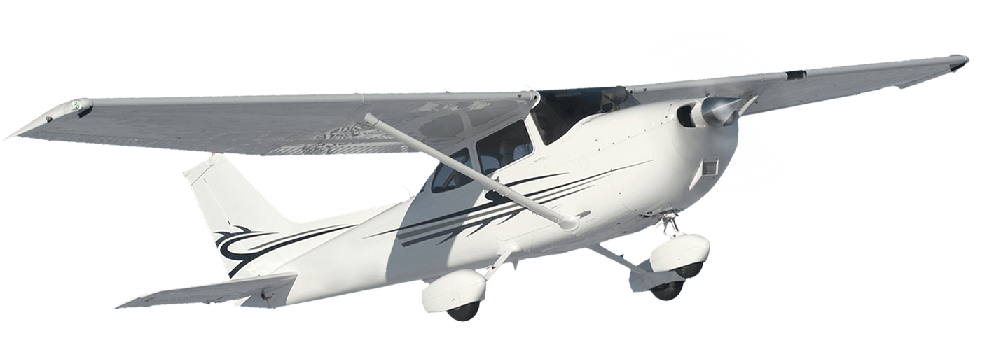 C172 clipart banner black and white download Cessna 172SP - AlphaFlight banner black and white download