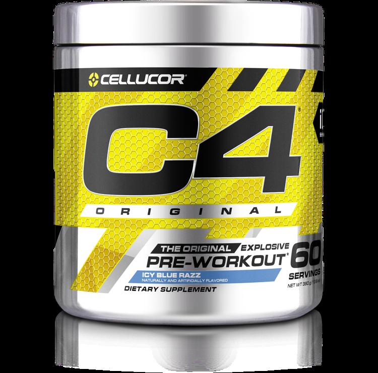C4 pre workout clipart