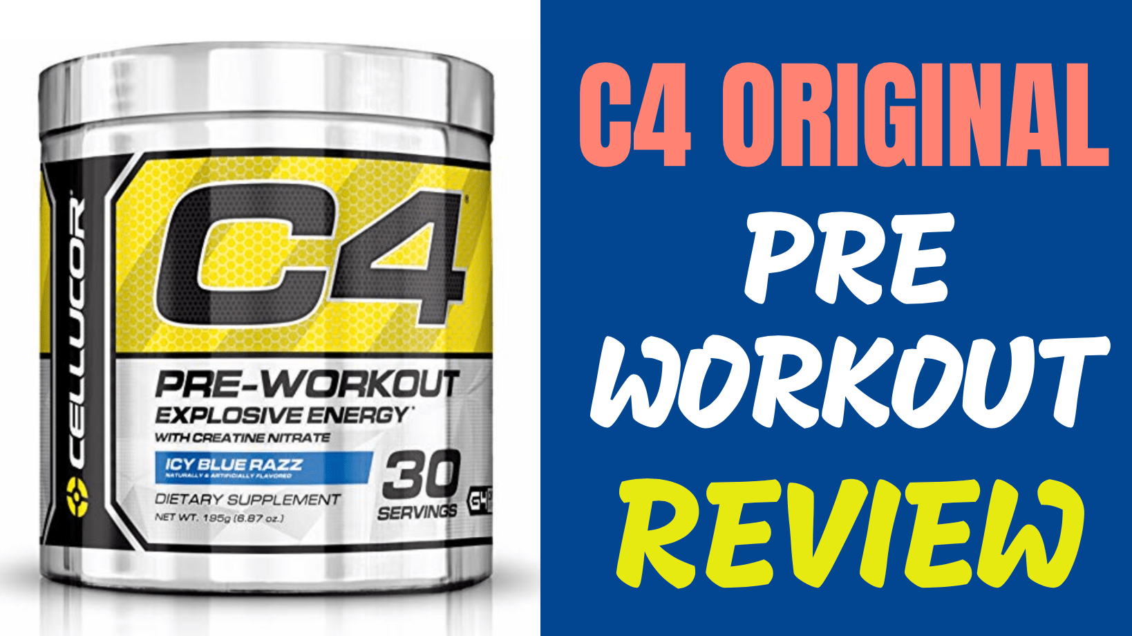 C4 pre workout clipart clipart royalty free download Cellucor C4 Original Pre Workout Review - HeavyLiftz clipart royalty free download