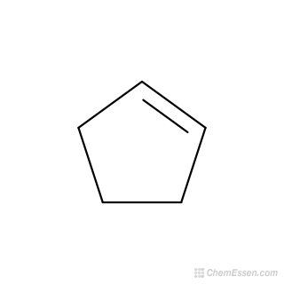 C5h8 clipart image freeuse library CYCLOPENTENE Molecular Weight - C5H8 - Over 100 million chemical ... image freeuse library