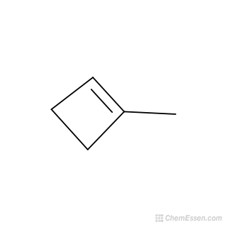 C5h8 clipart clip free library 1-methylcyclobut-1-ene Structure - C5H8 - Over 100 million chemical ... clip free library