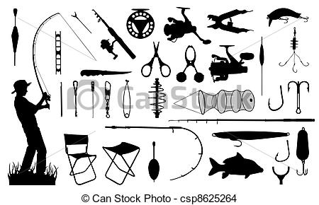Ca+-a de pescar clipart png black and white stock fishing png black and white stock