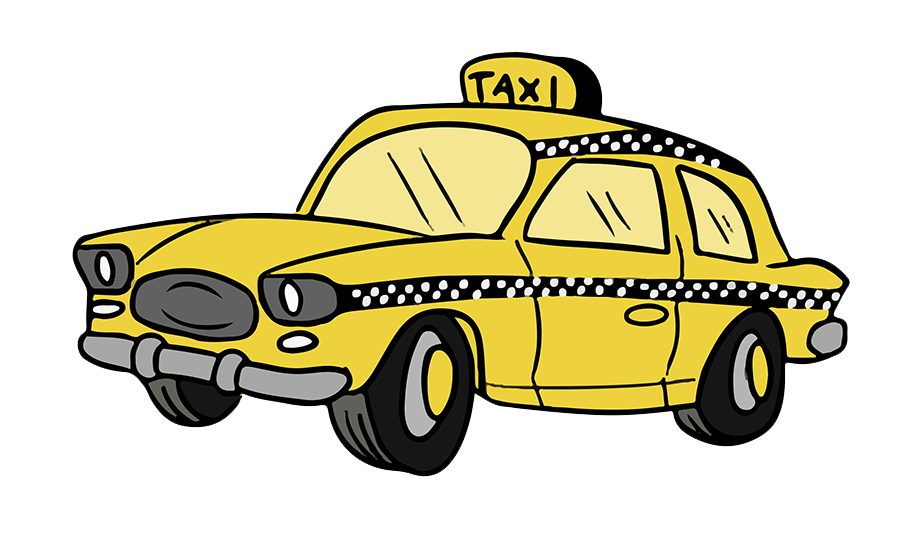Cab pictures clipart vector library stock free-cartoon-taxi-cab-clip-art-taxi-clipart-900_558 - The Temp ... vector library stock