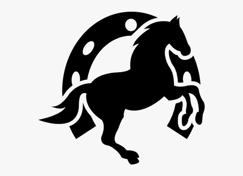 Cabeca de cavalo clipart svg free library Dancing Horse And Horseshoe Background Free Vector - Desenhos De ... svg free library