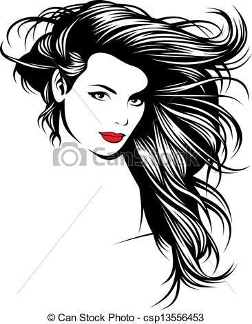 Cabelo clipart svg Clipart cabelo 1 » Clipart Portal svg