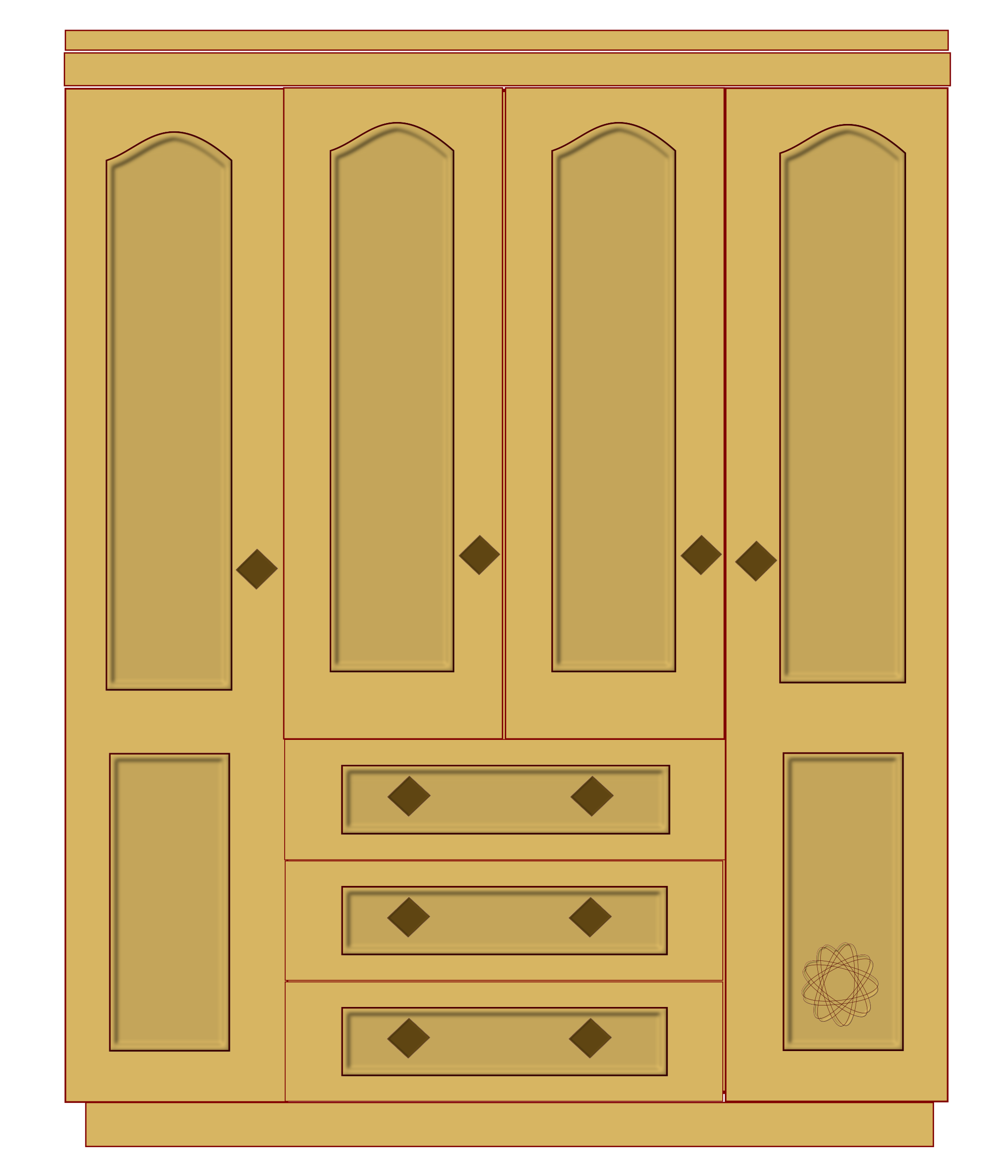 Cabinetry clipart