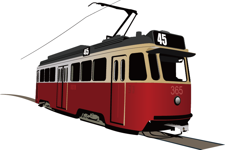 Cable car clipart freeuse stock Trams in Lisbon Rapid transit Clip art - Beautifully train 750*500 ... freeuse stock