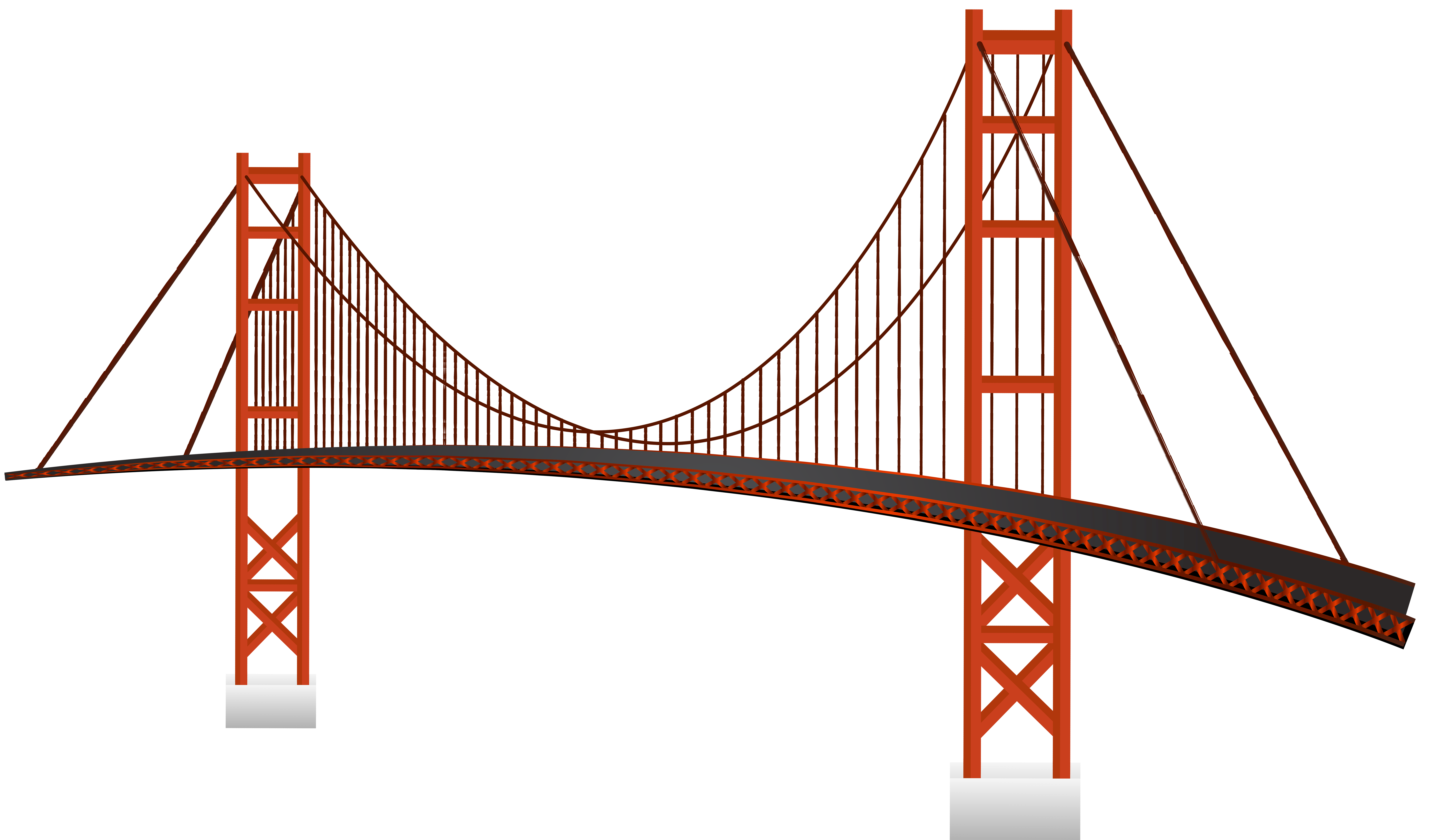 Cable car clipart black and white stock Golden Gate Bridge PNG Clip Art - Best WEB Clipart black and white stock