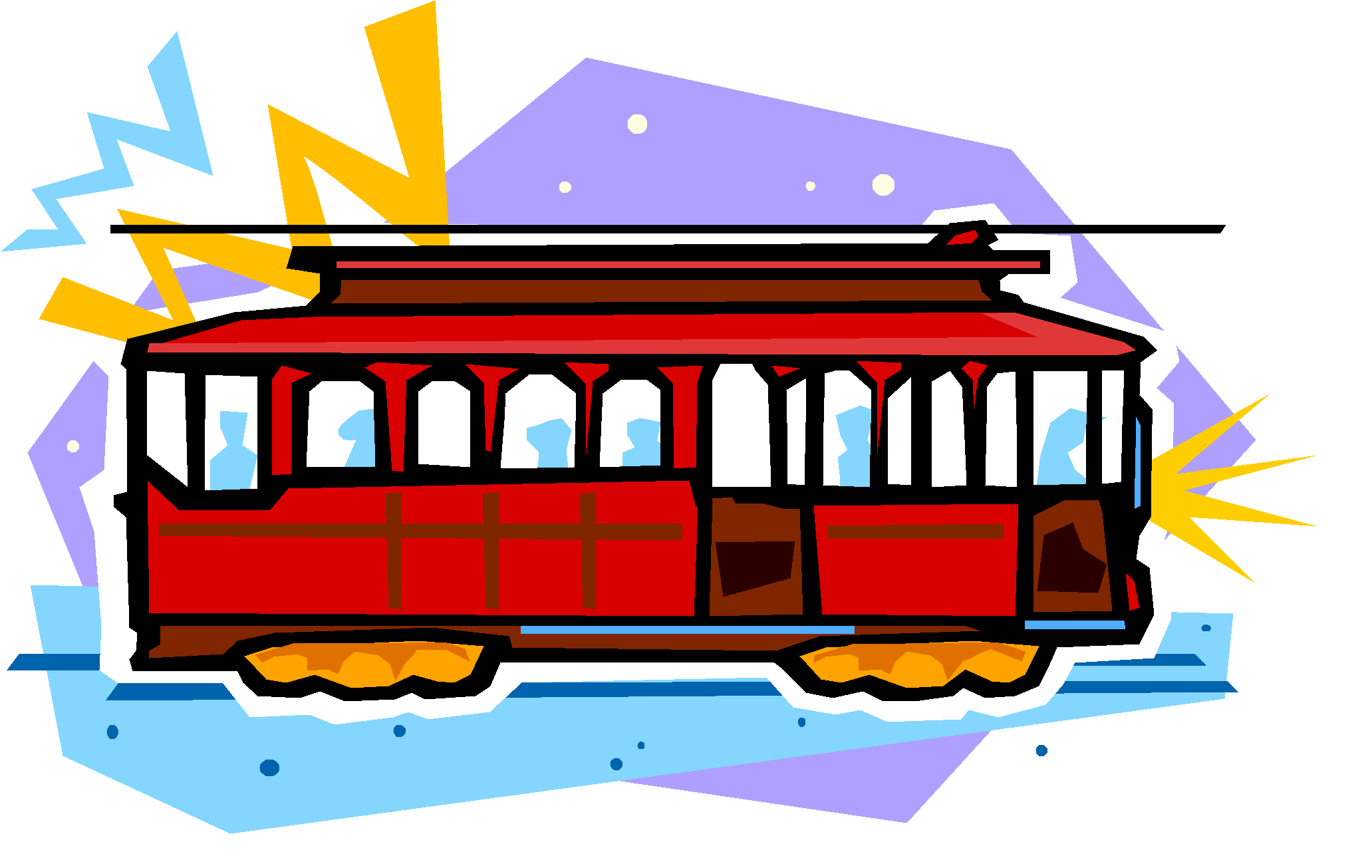 Cable car clipart image free Presentation Name on emaze image free