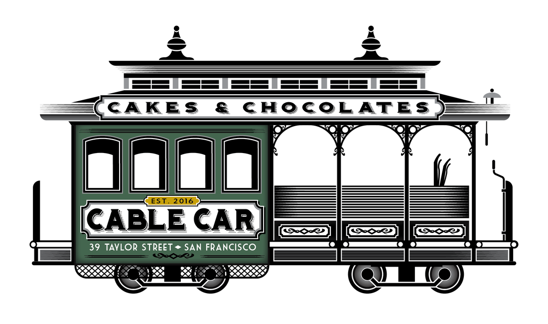 Street car clipart png black and white library Cable Car Cakes and Chocolates - HOME png black and white library