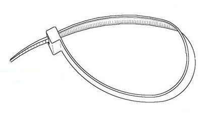 Cable ties clipart