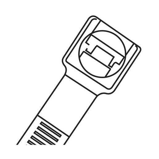 Cable ties clipart clipart library stock CABLE TIE 200 X 4.8 X 1.3MM NAT 100PK | Cable Ties | Cable ... clipart library stock