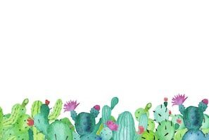 Cactus clipart border jpg transparent library Cactus border clipart 7 » Clipart Portal jpg transparent library