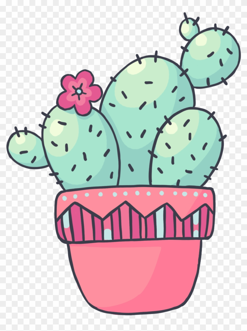 Cactus drawing clipart graphic stock Drawing Cactus Adorable Transparent Clipart Free Download - Cute ... graphic stock