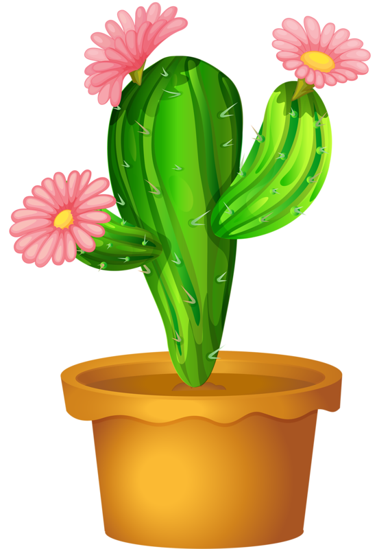Cactus with flower clipart picture free stock Picture 5.8 | ✿° my garden valley ° ✿ | Pinterest | Cacti, Clip ... picture free stock