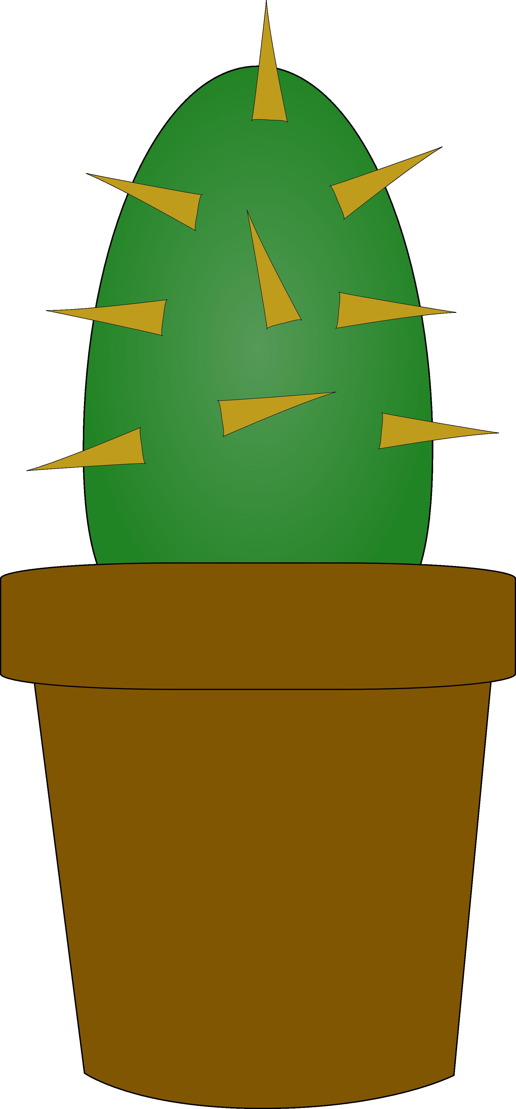 Cactus flower clipart picture free stock clipartist.net » Clip Art » cactus super duper SVG picture free stock