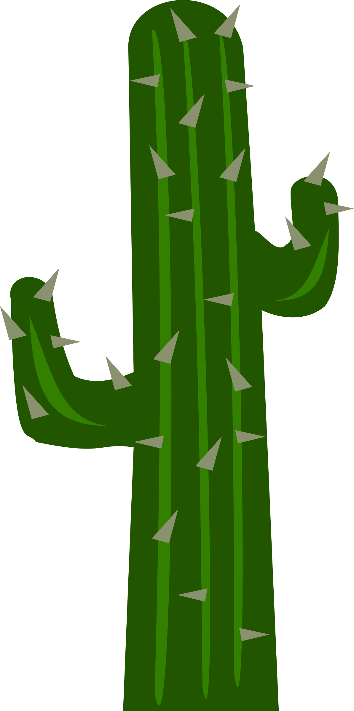 Cactus with flower clipart vector Clipart - Cactus2 vector