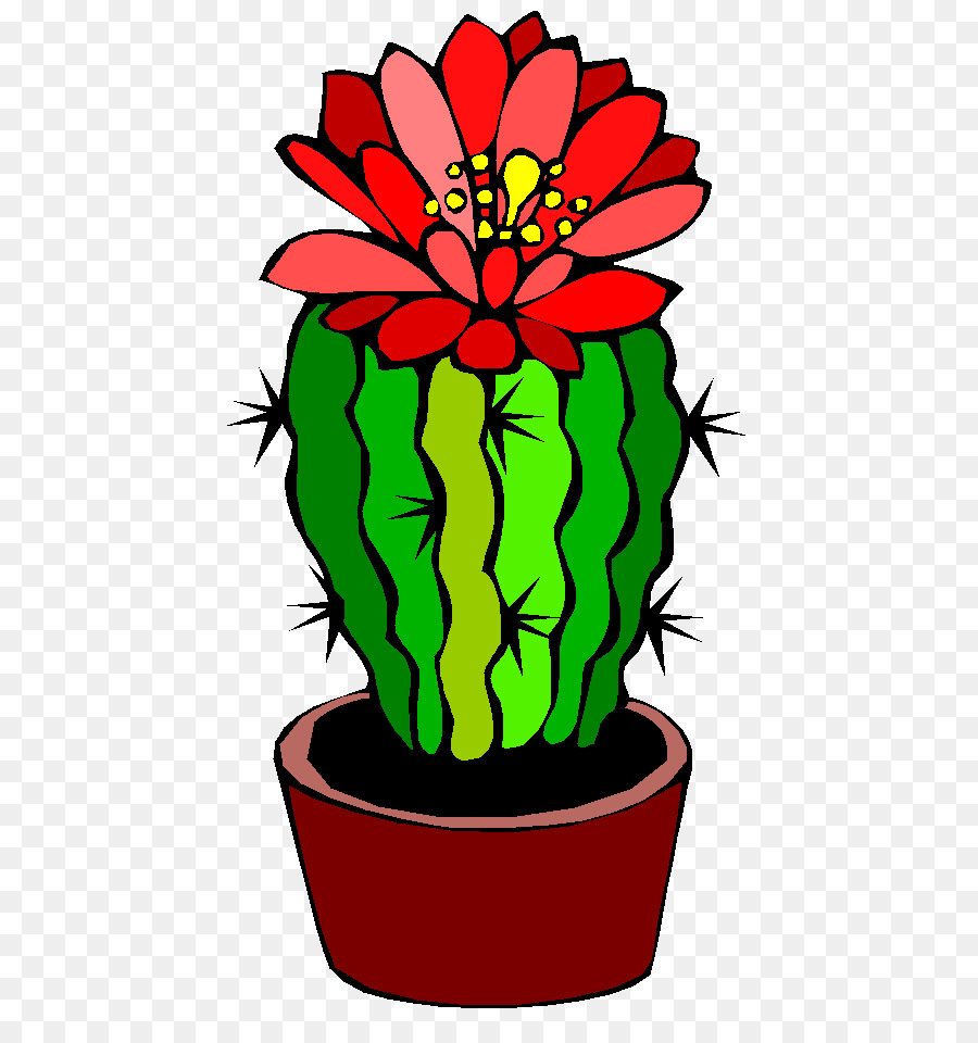 Cactus with flowers clipart png free stock Flowers Clipart Background clipart - Cactus, Flower, Tree ... png free stock