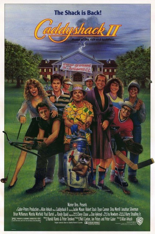 Caddyshack 2. Ii movie review and