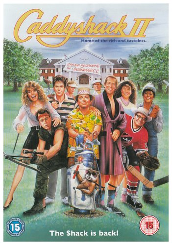 Dvd amazon co uk. Caddyshack 2