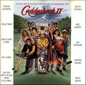 Ii soundtrack details soundtrackcollector. Caddyshack 2
