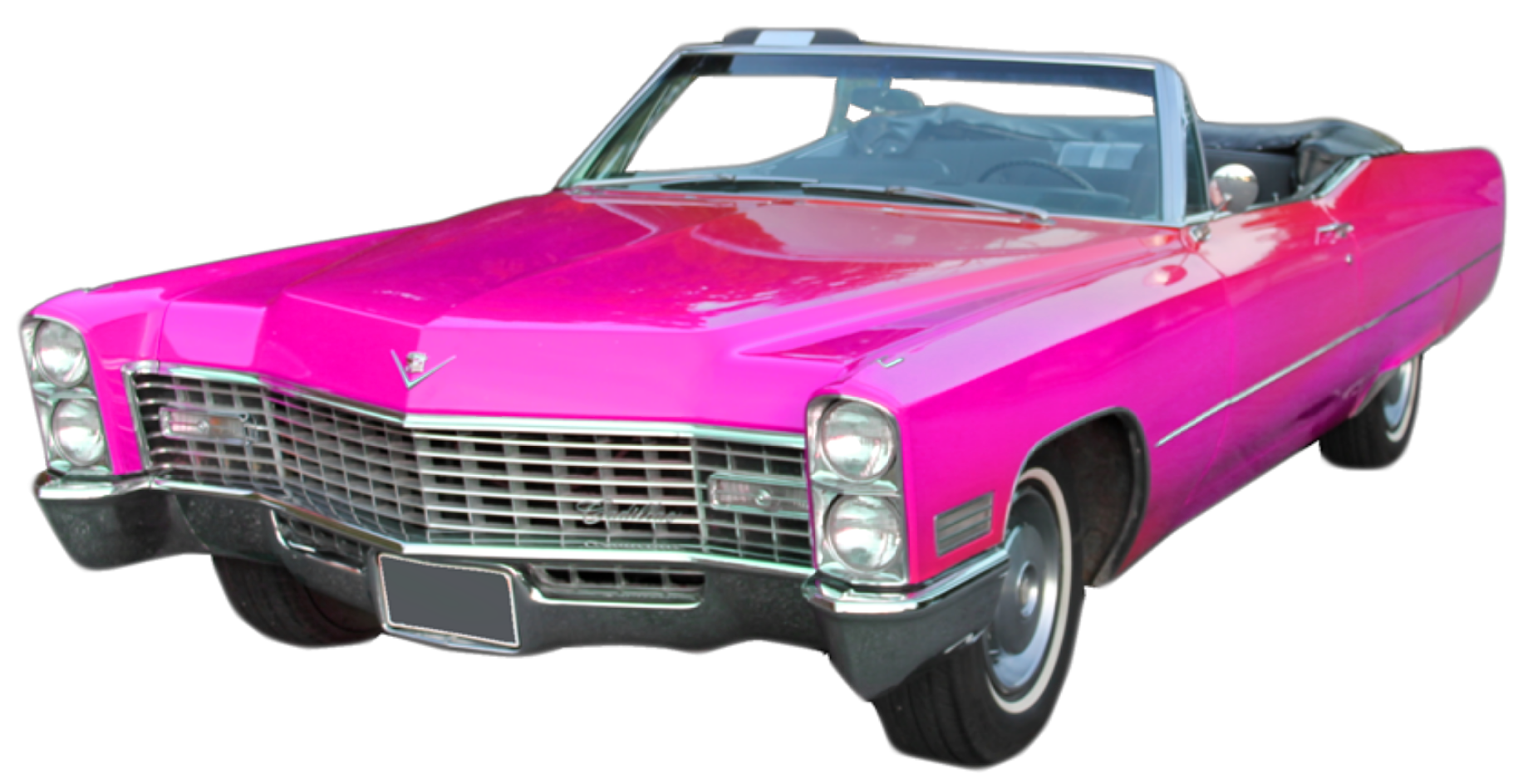 Cadilac car clipart png freeuse library ftestickers car convertible cadillac pinkcadillac retr... png freeuse library