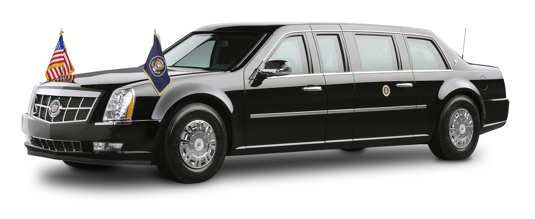 Cadilac car clipart png transparent download Cadillac Presidential Limousine Car PNG Image - PngPix png transparent download