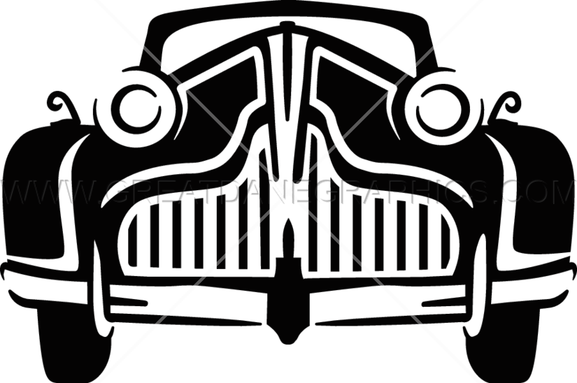 Cadillac classic car clipart clipart free stock Vintage Car Line Drawing at GetDrawings.com | Free for personal use ... clipart free stock