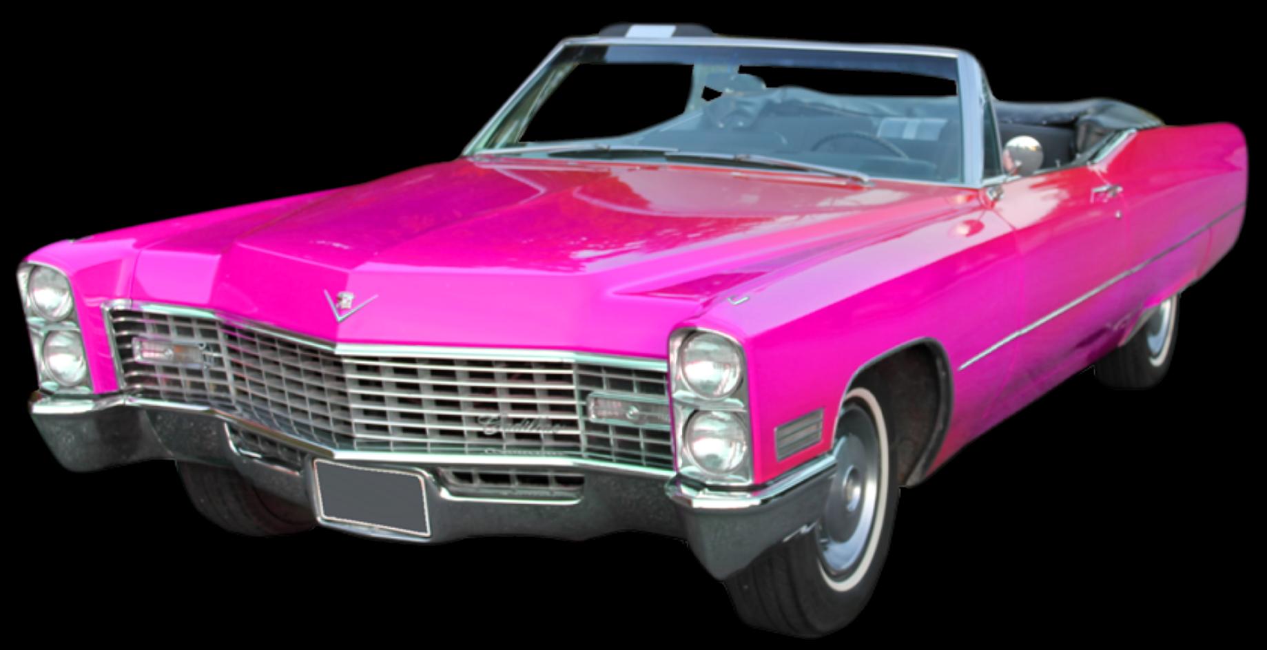 Cadillac classic car clipart clip art free library ftestickers car convertible cadillac pinkcadillac retr... clip art free library