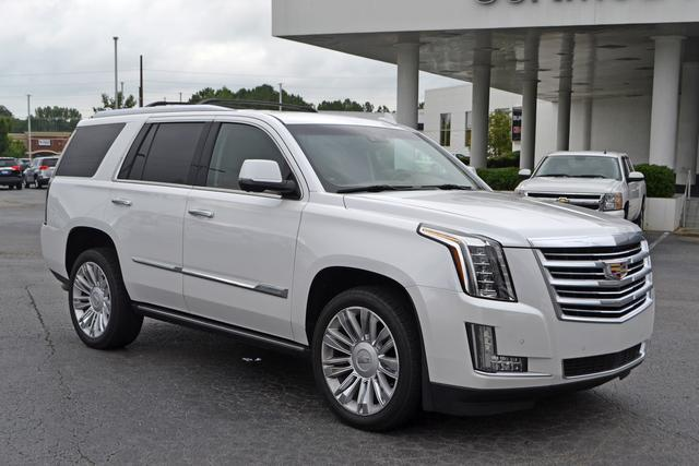 Cadillac escalade 2016 clipart svg download Used Crystal White Tricoat 2016 Cadillac Escalade 4WD Platinum for ... svg download