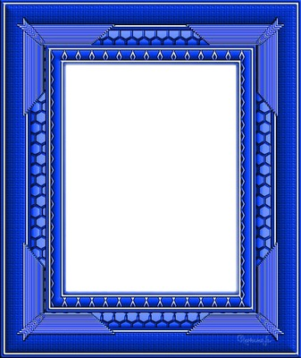 Cadre bleu clipart svg royalty free library Photo montage cadre bleu foncé - Pixiz svg royalty free library