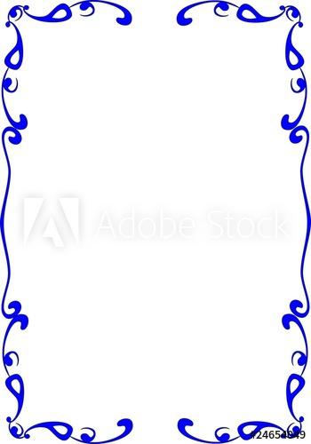 Cadre bleu clipart svg royalty free download cadre bleu - Buy this stock illustration and explore similar ... svg royalty free download