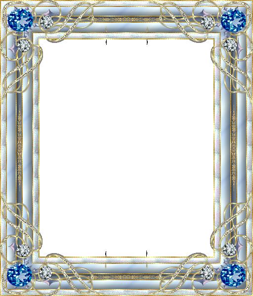 Cadre bleu clipart clip transparent stock cadre bleu | Printables | Frame clipart, Frame crafts, Borders, frames clip transparent stock
