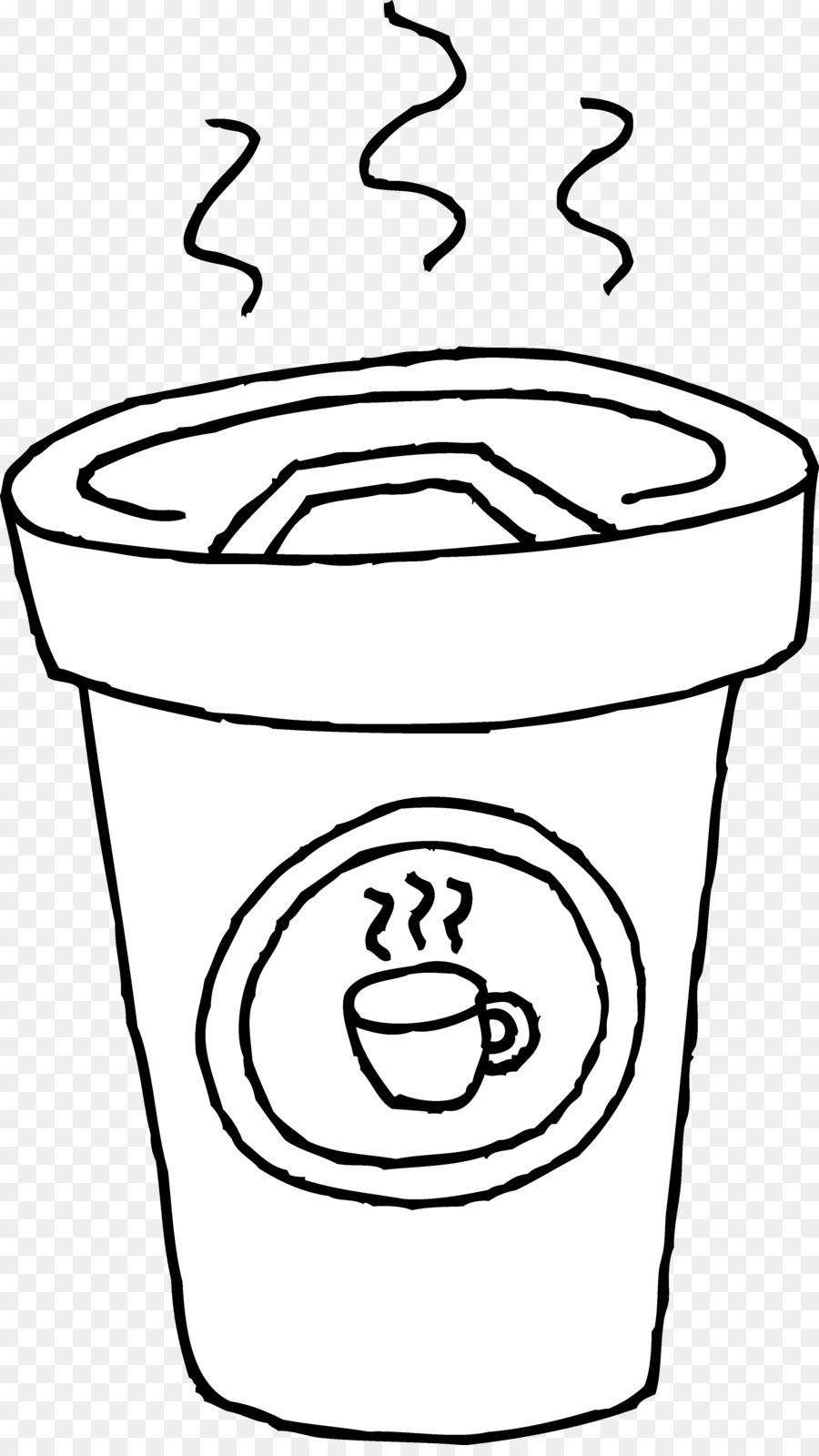 Cafe black and white clipart clip art download Starbucks Cup Background png download - 3033*5351 - Free Transparent ... clip art download