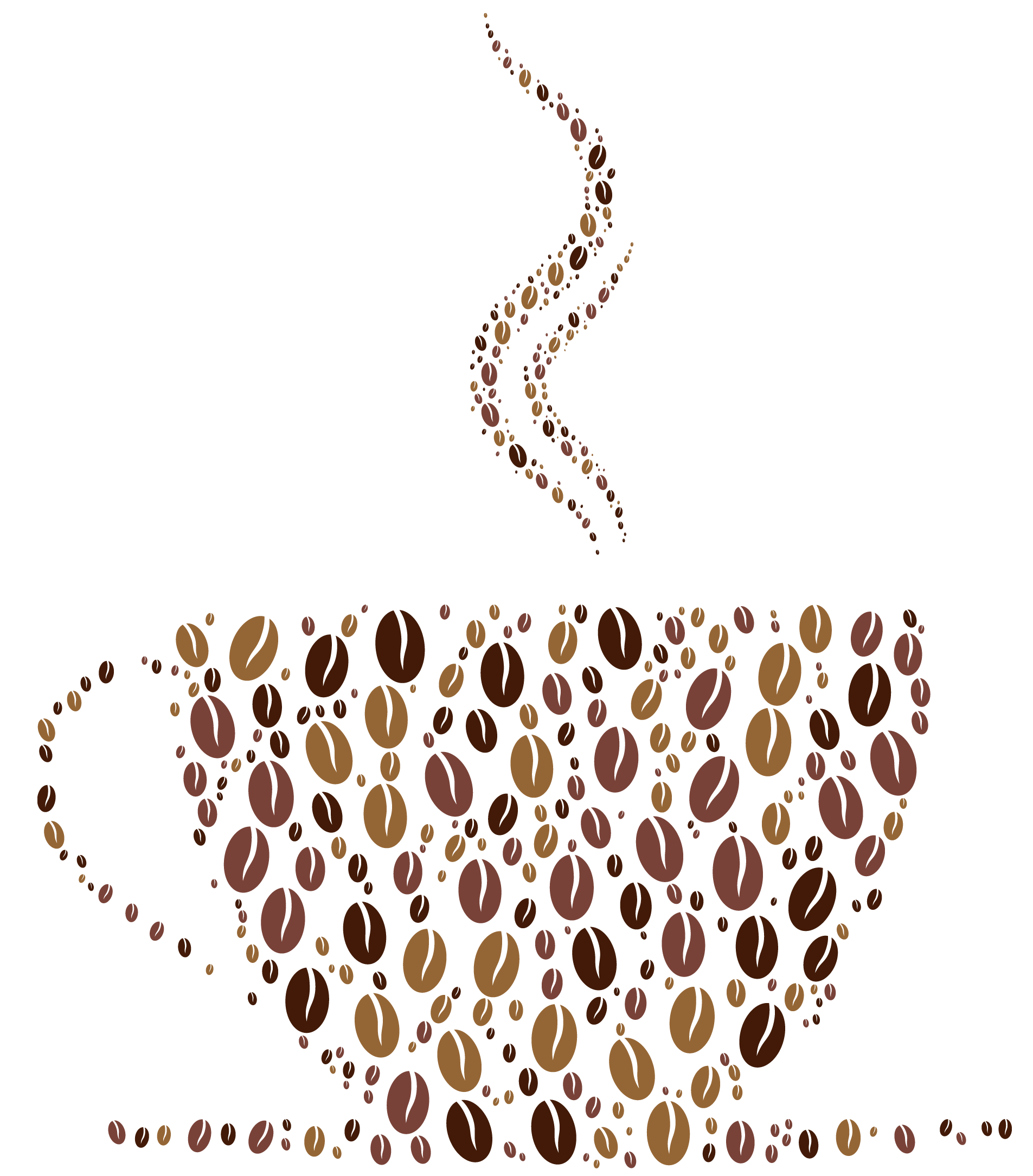 Coffee cup border clipart svg royalty free stock Free Clipart Coffee Borders – All About Coffee Beans – Espresso ... svg royalty free stock